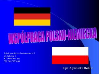 WSP LPRACA POLSKO-NIEMIECKA