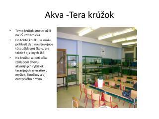 Akva -Tera krúžok