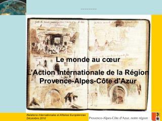 Relations Internationales et Affaires Européennes Décembre 2010
