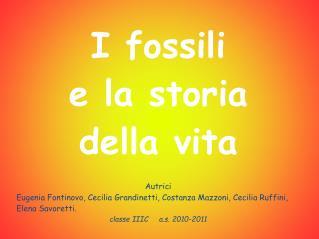 I fossili e la storia della vita