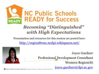 """Becoming """"Distinguished"""" with High Expectations"""