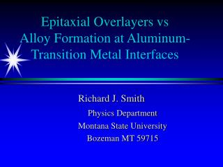 Epitaxial Overlayers vs  Alloy Formation at Aluminum-Transition Metal Interfaces