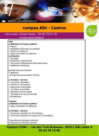 campus Albi - Castres