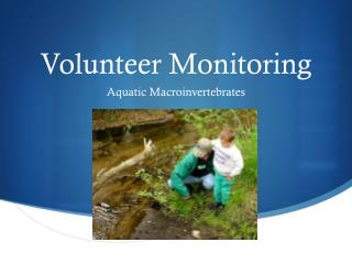 Volunteer Monitoring