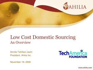 Low Cost Domestic Sourcing An Overview