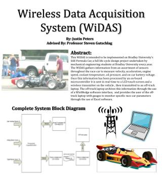 Wireless Data Acquisition System ( WiDAS )