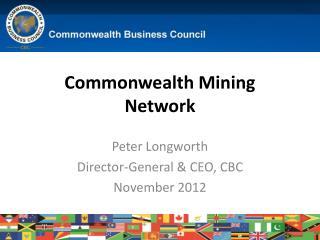 Commonwealth Mining Network