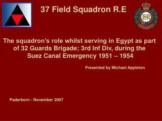 37 Field Squadron R.E