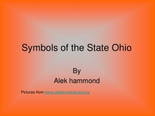 Symbols of the State Ohio