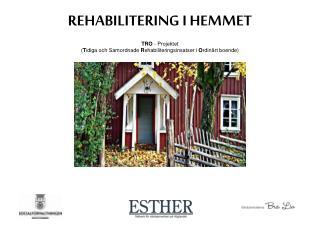 REHABILITERING I HEMMET TRO  - Projektet