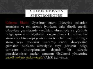 Atomik Emisyon Spektroskopisi
