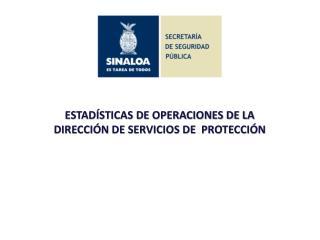ESTAD�STICAS DE OPERACIONES DE LA DIRECCI�N DE SERVICIOS DE  PROTECCI�N