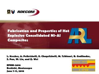 Fabrication and Properties of Hot Explosive Consolidated Ni-Al Composites