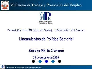 Ministerio de Trabajo y Promoci�n del Empleo