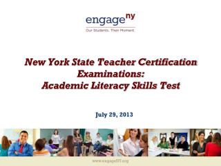 New York State Teacher Certification Examinations: Academic Literacy Skills Test