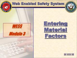 WESS  Module 3