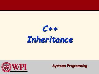 C Inheritance