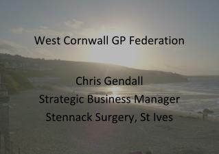 West Cornwall GP Federation