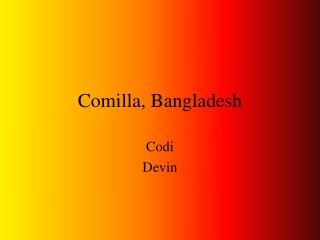 Comilla, Bangladesh