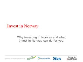 Invest in Norway