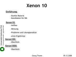 Xenon 10