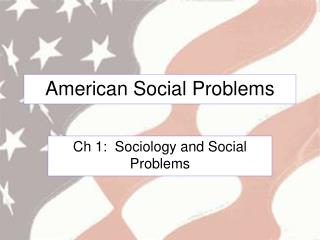 American Social Problems