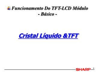 Funcionamento Do TFT-LCD Módulo - Básico -