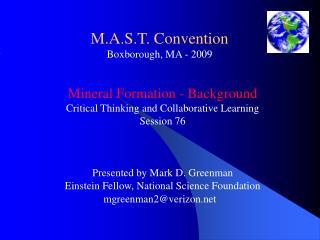M.A.S.T. Convention Boxborough, MA - 2009