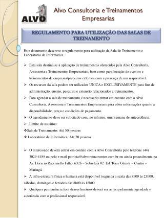 Alvo Consultoria e Treinamentos Empresarias