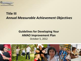 Title III   Annual Measurable Achievement Objectives
