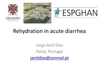 Rehydration in acute diarrhea