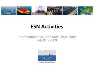 ESN Activities