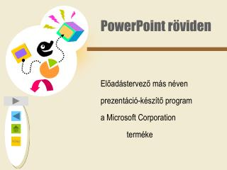PowerPoint röviden