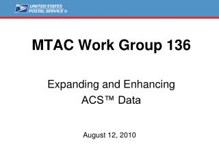 MTAC Work Group 136