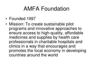 AMFA Foundation