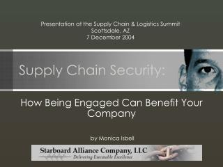 Supply Chain Security: