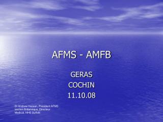 AFMS - AMFB