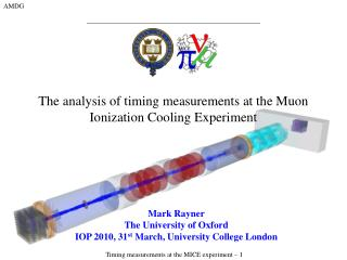 The analysis of timing measurements at the Muon Ionization Cooling Experiment