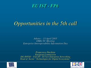 EU IST - FP6