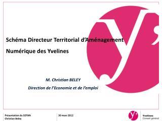 Schéma Directeur Territorial d'Aménagement Numérique des Yvelines