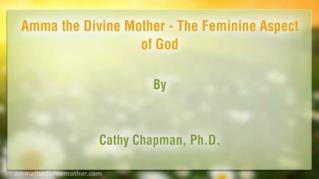 ppt 40160 Amma the Divine Mother The Feminine Aspect of God