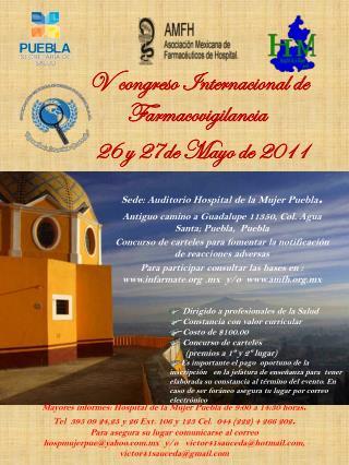 V  congreso Internacional de  Farmacovigilancia