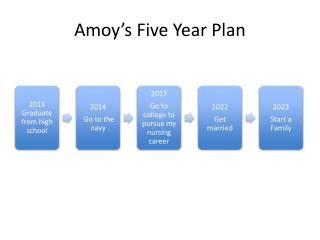 Amoy's Five Year Plan
