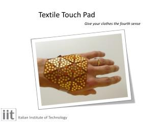 Textile Touch Pad