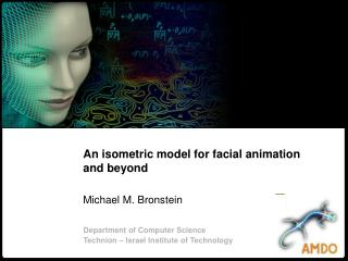 An isometric model for facial animation and beyond