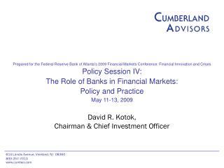 David R. Kotok,  Chairman & Chief Investment Officer