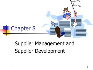 Supplier Management and Supplier Development