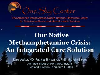 Our Native Methamphetamine Crisis: An Integrated Care Solution