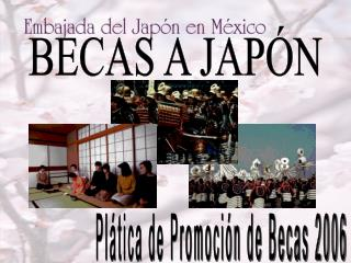 BECAS A JAPÓN