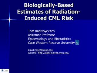 Biologically-Based Estimates of Radiation-Induced CML Risk